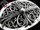 CHROME HEARTS/クロムハーツ【希少・35万↑】クラシックオーバルクロスバックル/ラージ