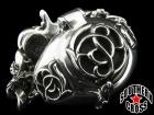 CHROME HEARTS/クロムハーツ【超希少・旧刻印】ファンシーリンクウォッチケース/フローラル