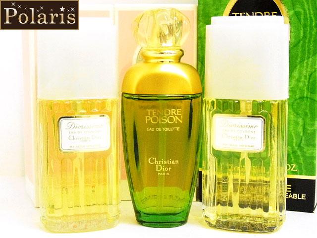Christian Dior(クリスチャンディオール)【未使用】「ディオリシモ オーデコロン・タンドゥルプワゾン オードゥトワレ」香水3点セット