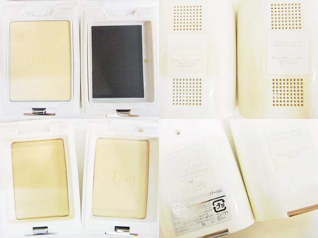Christian Dior(クリスチャンディオール)【中古】フェイスパウダー・ファンデーション・リップ・アイシャドウ・ポーチ15点セット