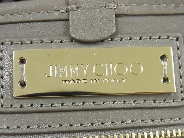 JIMMY CHOO(ジミーチュウ)【本物】スタースタッズトートバッグ/グレー