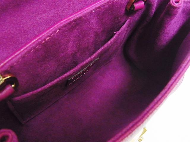 LOUIS VUITTON(ルイヴィトン)【本物】モノグラムアンプラント「サンジェルマンBB」チェーンショルダーバッグ/グレープ【M94555/SP4195】