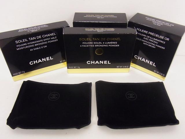 CHANEL/シャネル フェイスパウダー ボディパウダー 4点セット