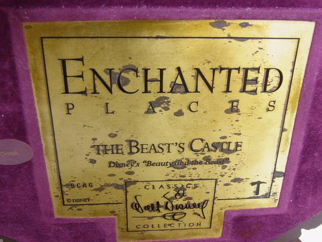 ディズニー WDCC 美女と野獣のお城 ビーストキャッスル