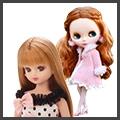 リカちゃん人形、バービー人形、ブライス人形などの着せ替えドールや、お家などのアイテム買取致します。