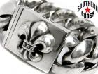 CHROME HEARTS/クロムハーツ【定価47万円↑↑】XLクラシックIDブレスレット/BOXクロージャー/BSフレア