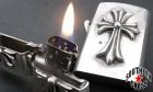 CHROME HEARTS/クロムハーツ【大人気・定価28万円↑↑】ZIPPO/CHクロスV1