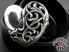 CHROME HEARTS/クロムハーツ【34inch】ハートバックル/ベルトストラップ