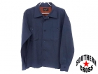 TENDERLOIN/テンダーロイン【サイズM】ウールシャツ/ブルーグレー系