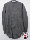 JULIUS/ユリウス ノーカラーシャツ 547SHM2 ブラック 1