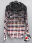 LGB/ルグランブルー チェックシャツ SHIRT-G/PK-OD/M 1194K